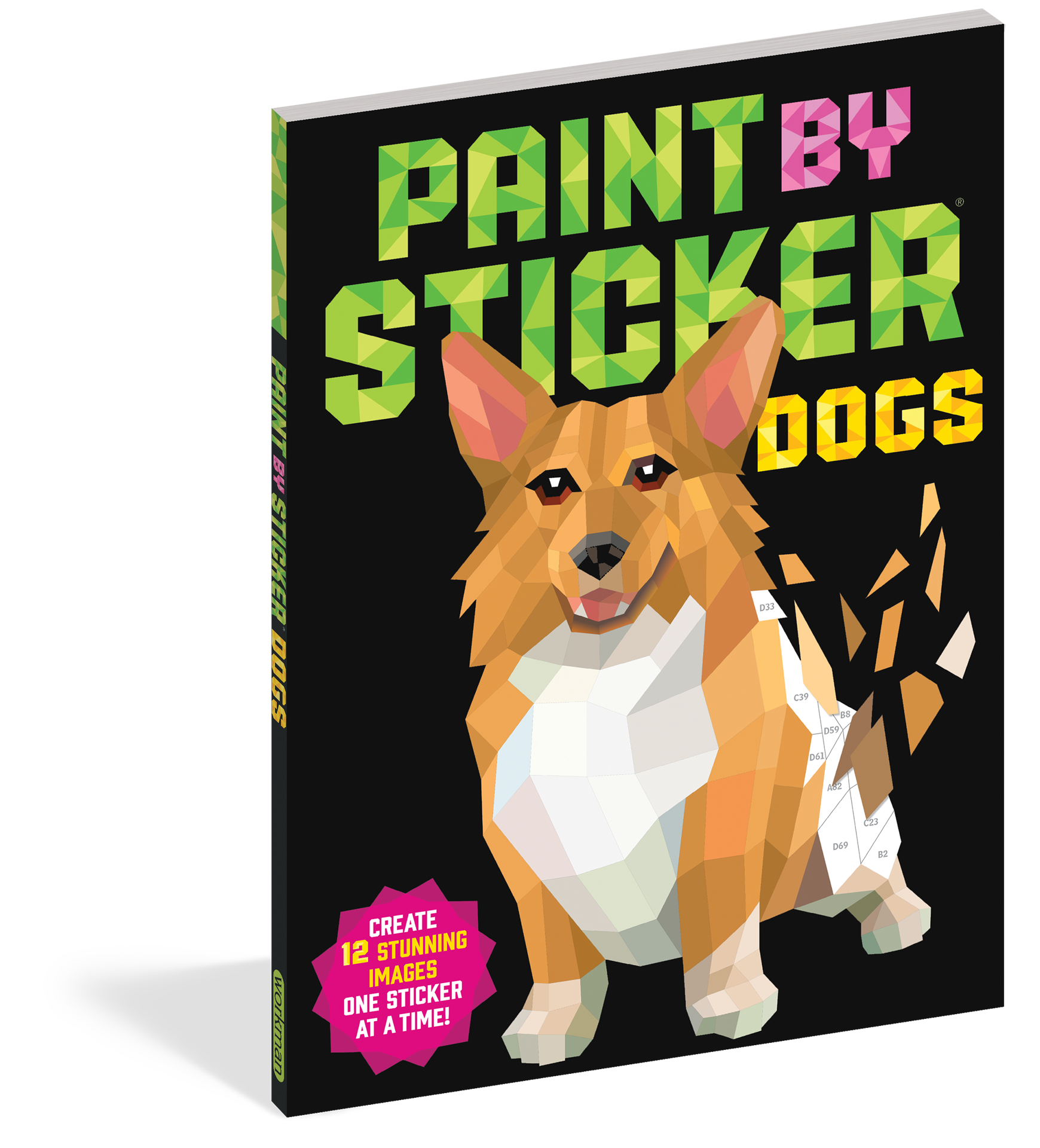 Picture of Paint By Sticker - Dogs