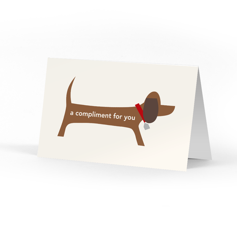 Picture of Doggie Compliment Cards