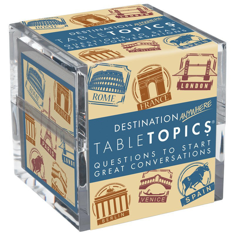 Picture of Table Topics:  Destination Anywhere