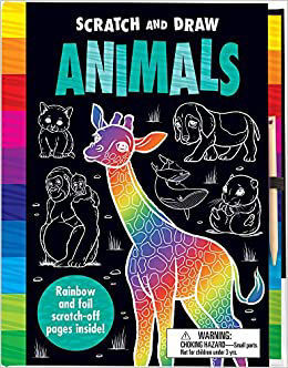 Picture of Scratch and Draw : Animals