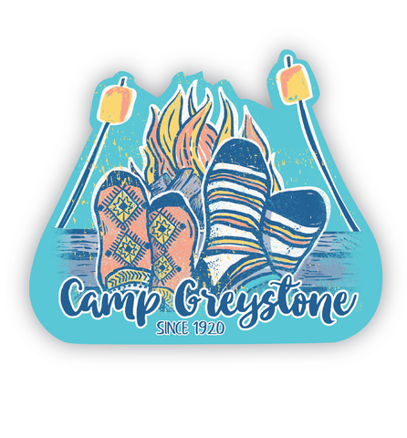 Picture of Socks & S'Mores Sticker