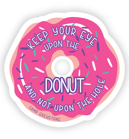 Picture of Donut Sticker