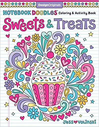 Picture of Sweets & Treats Coloring Book