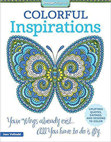 Picture of Colorful Inspirations Coloring Book