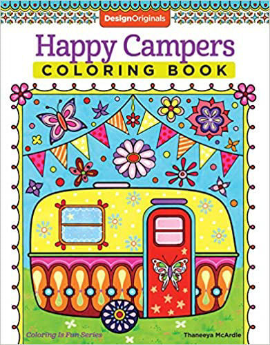 Picture of Happy Campers Coloring Book