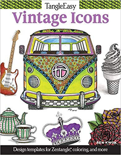 Picture of Vintage Icons Coloring Book