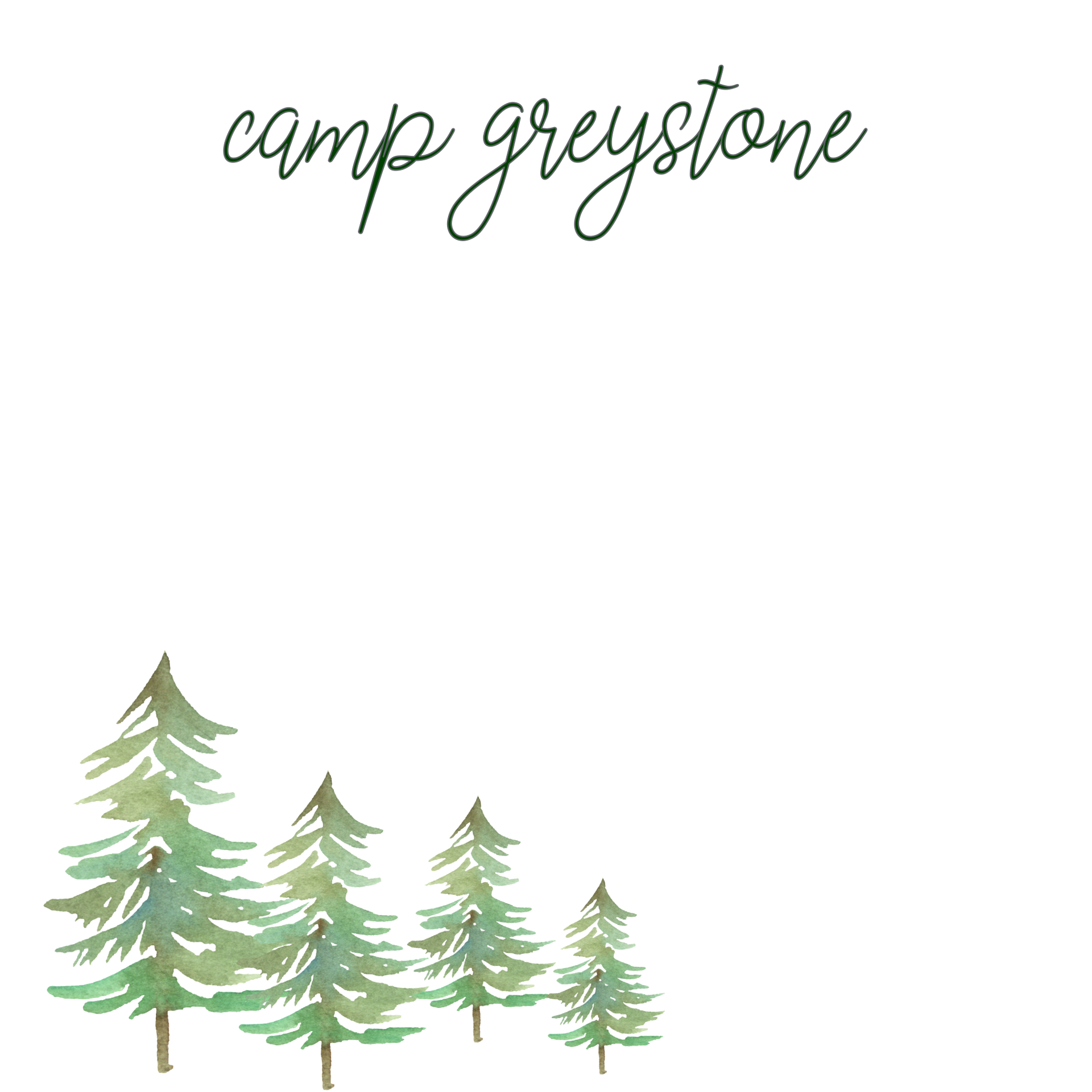 Picture of Greystone Pines Note Pad