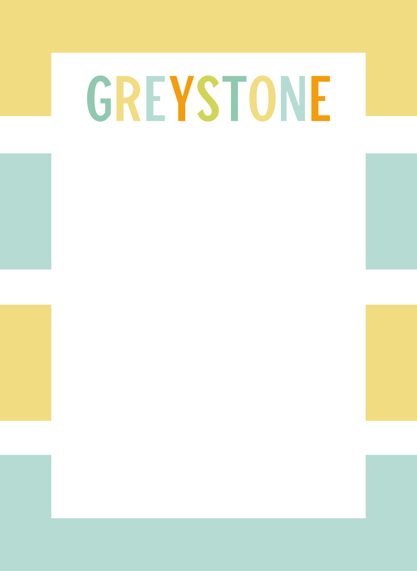 Picture of Greystone Colors Flat Note Card Set