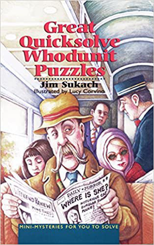 Picture of Great Quicksolve Whodunit Puzzles