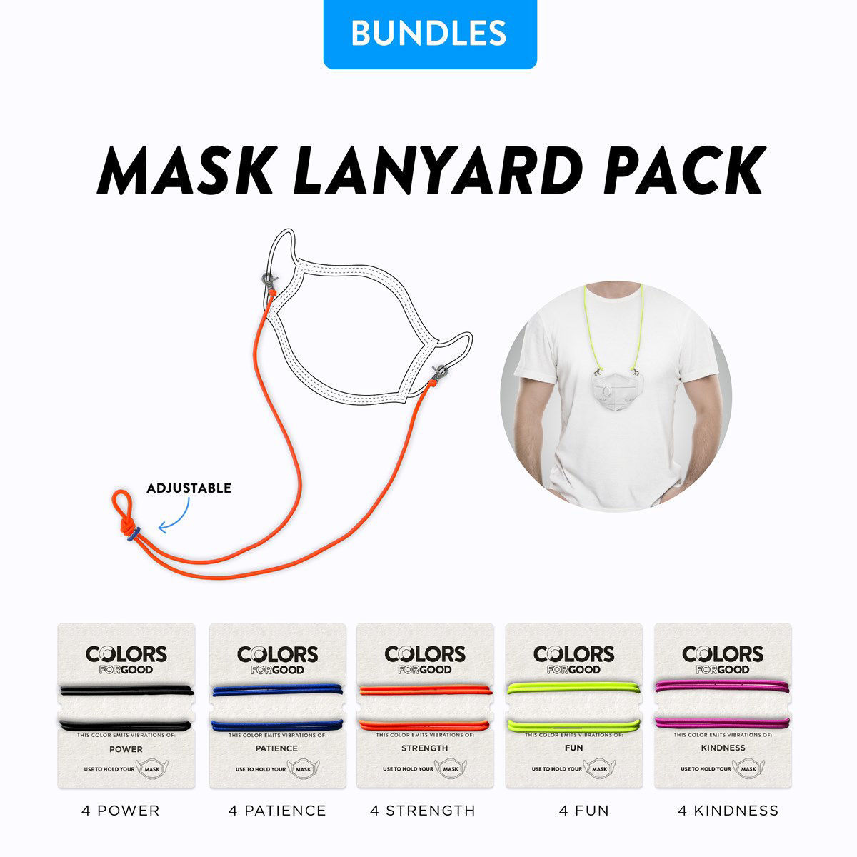 Picture of Mask Hanger - Colors for Good