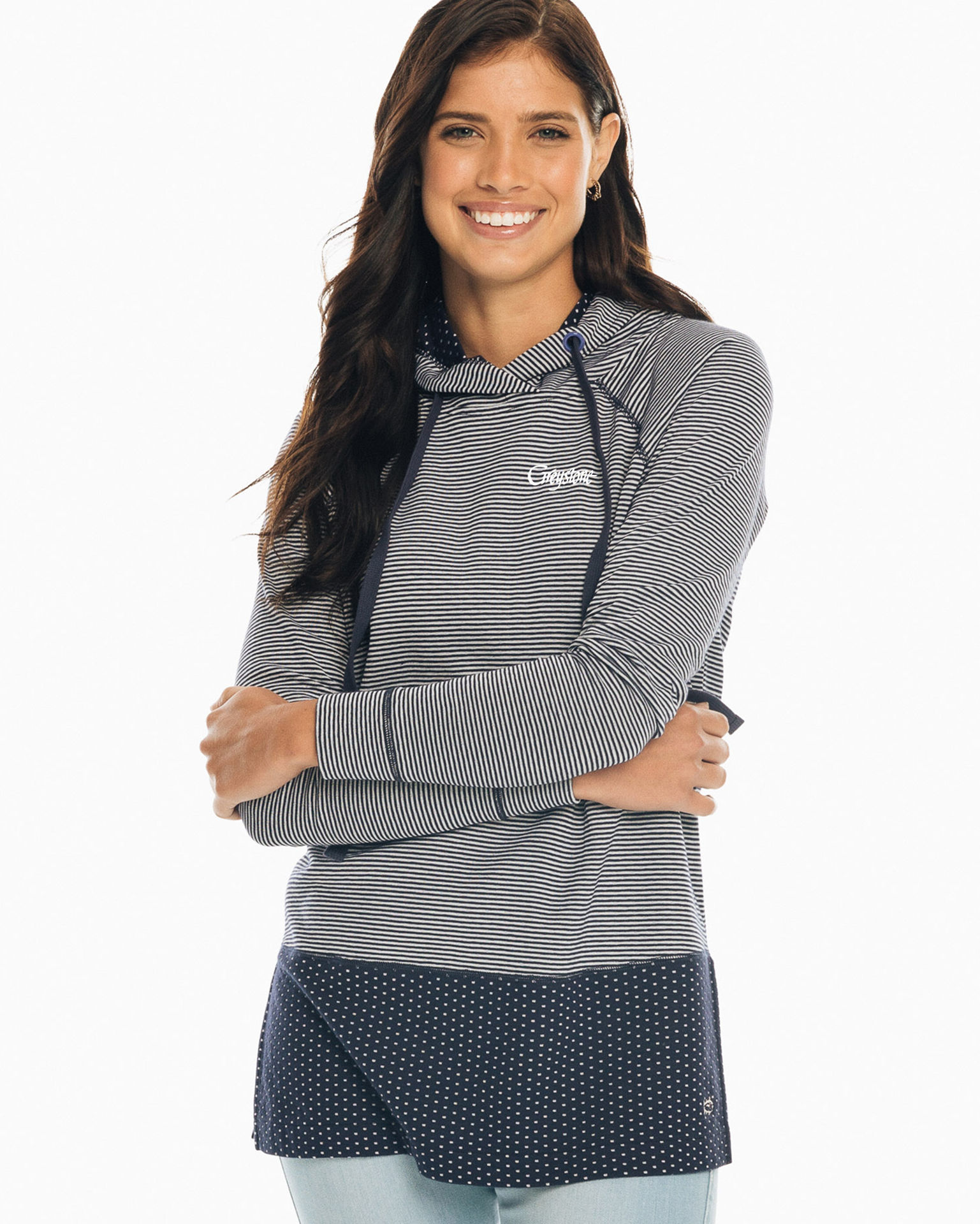 Picture of Cadie Tunic Hoodie - 2 Colors