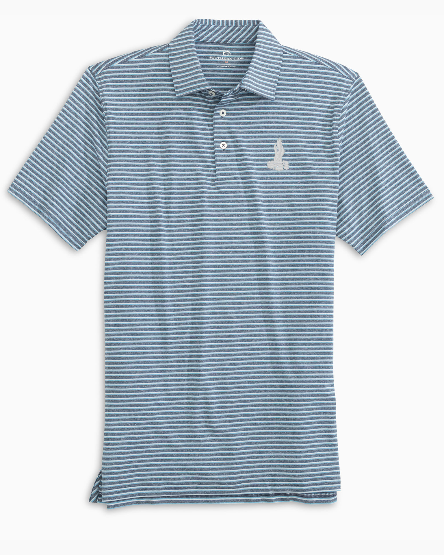 Picture of Men's Heather Micro Striped Performance Polo - 2 Colors