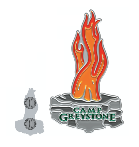 Picture of Greystone Council Fire Enamel Pin