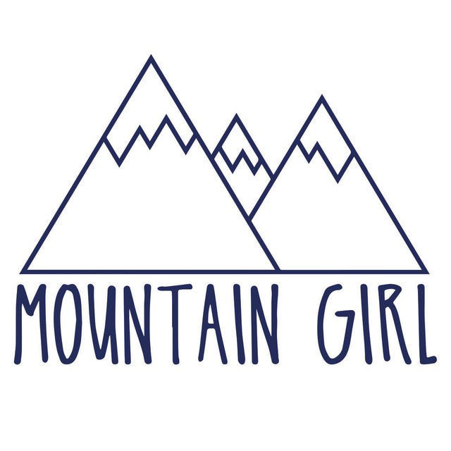 Picture of Mountain Girl Vinyl Decal