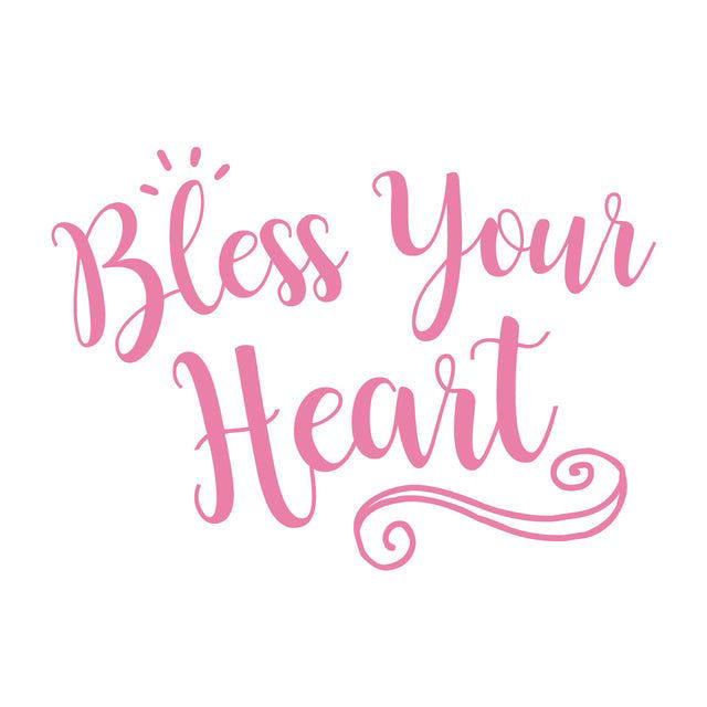 Picture of Bless Your Heart Vinyl Decal