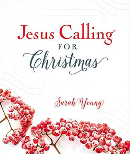 Picture of Jesus Calling for Christmas