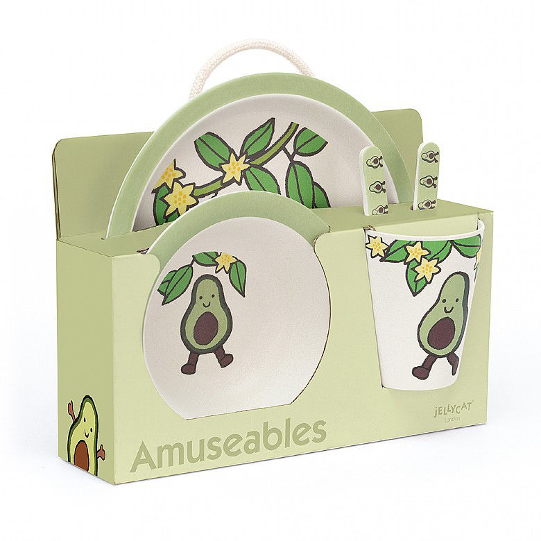Picture of Amuseable Avocado Bamboo Set