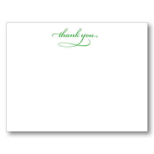 Picture of Thank You Script Note Cards
